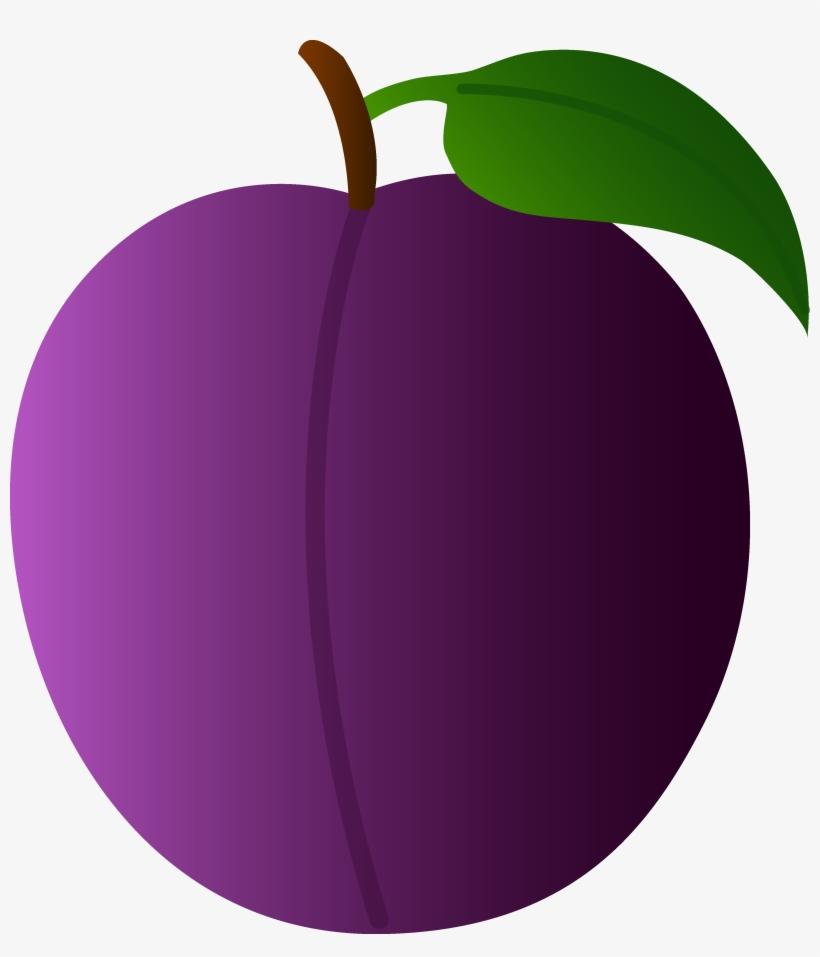 Fruits clipart purple fruit. Clip art plum transparent