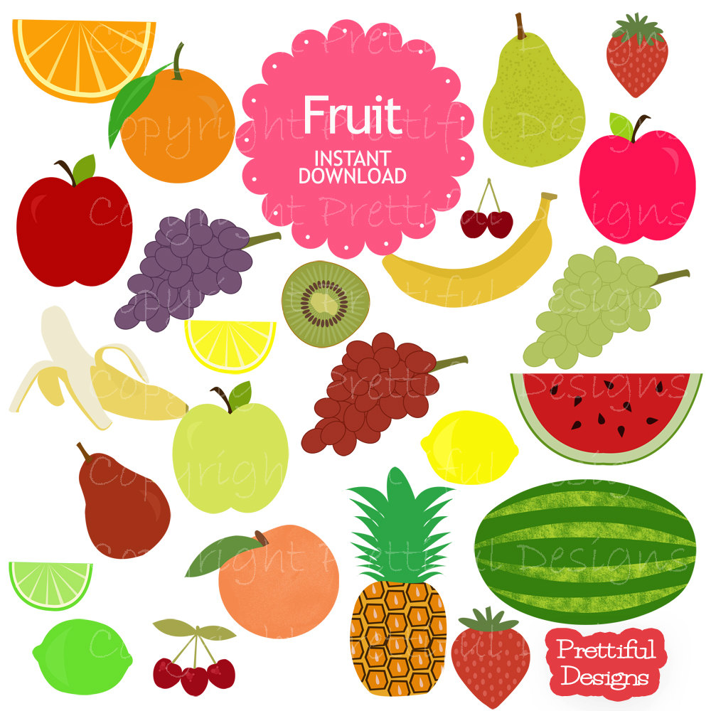 Free fruits cliparts download. Clipart fruit spring