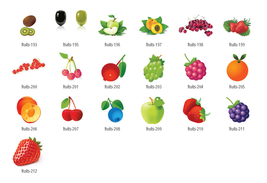 Clipart fruit spring. Free fruits cliparts download