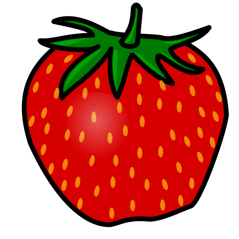 Strawberry free stock photo. Strawberries clipart clear background