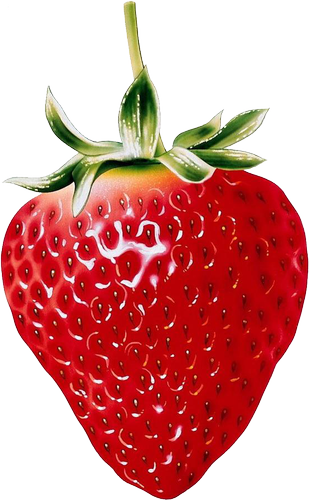 Clipart fruit strawberry. Natural png plody