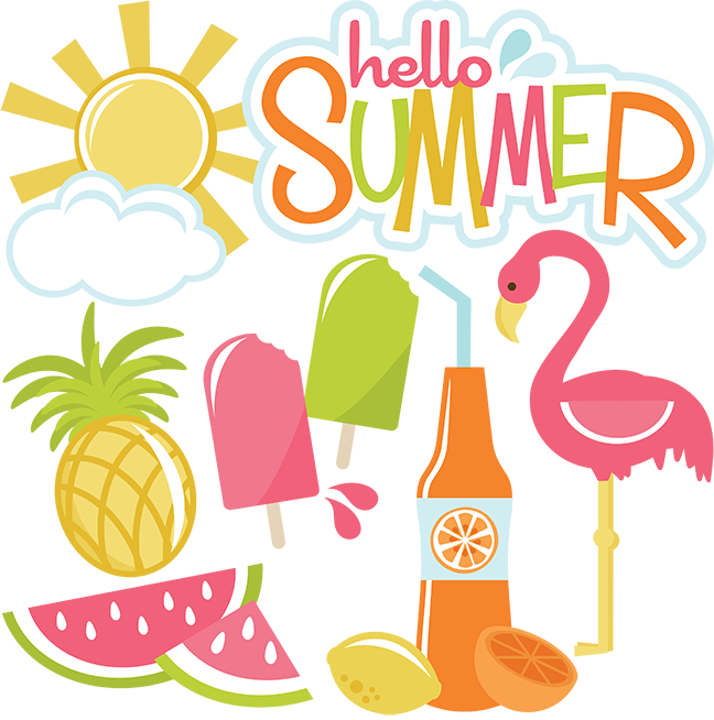 Summer clip art . Wednesday clipart hello
