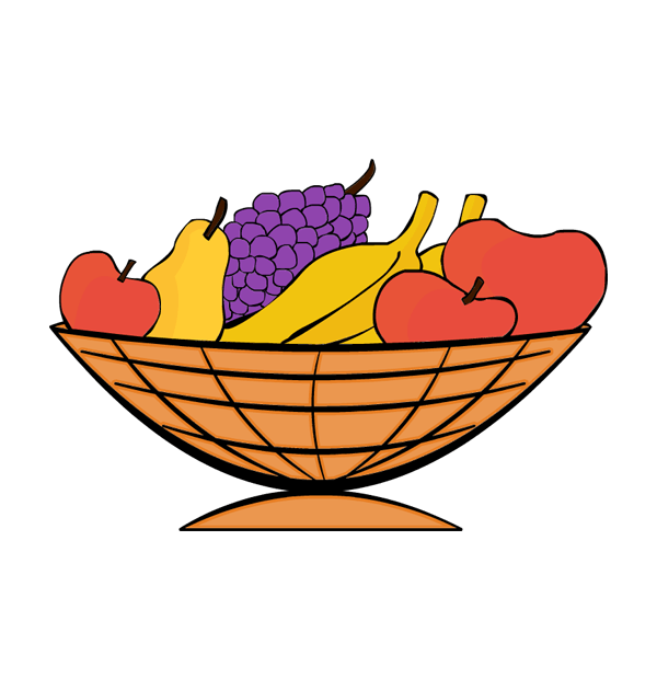 Fruit clipart thanksgiving.  collection of basket