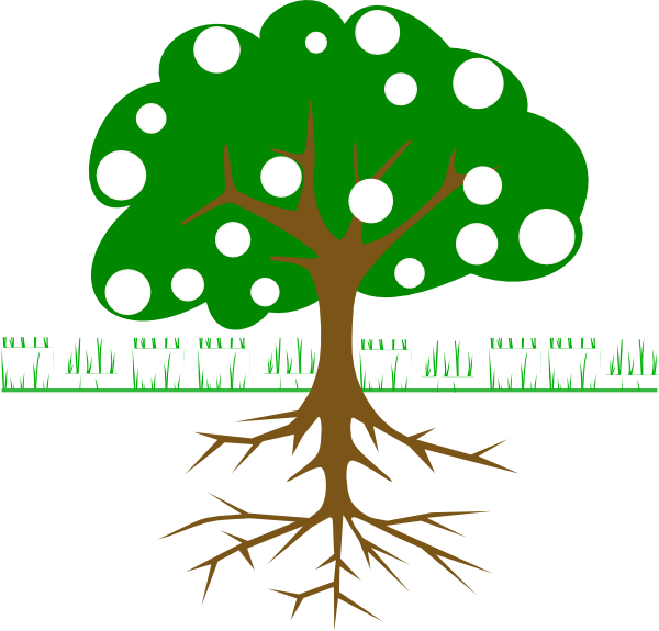 Fruit clipart tree. With fruits clip art