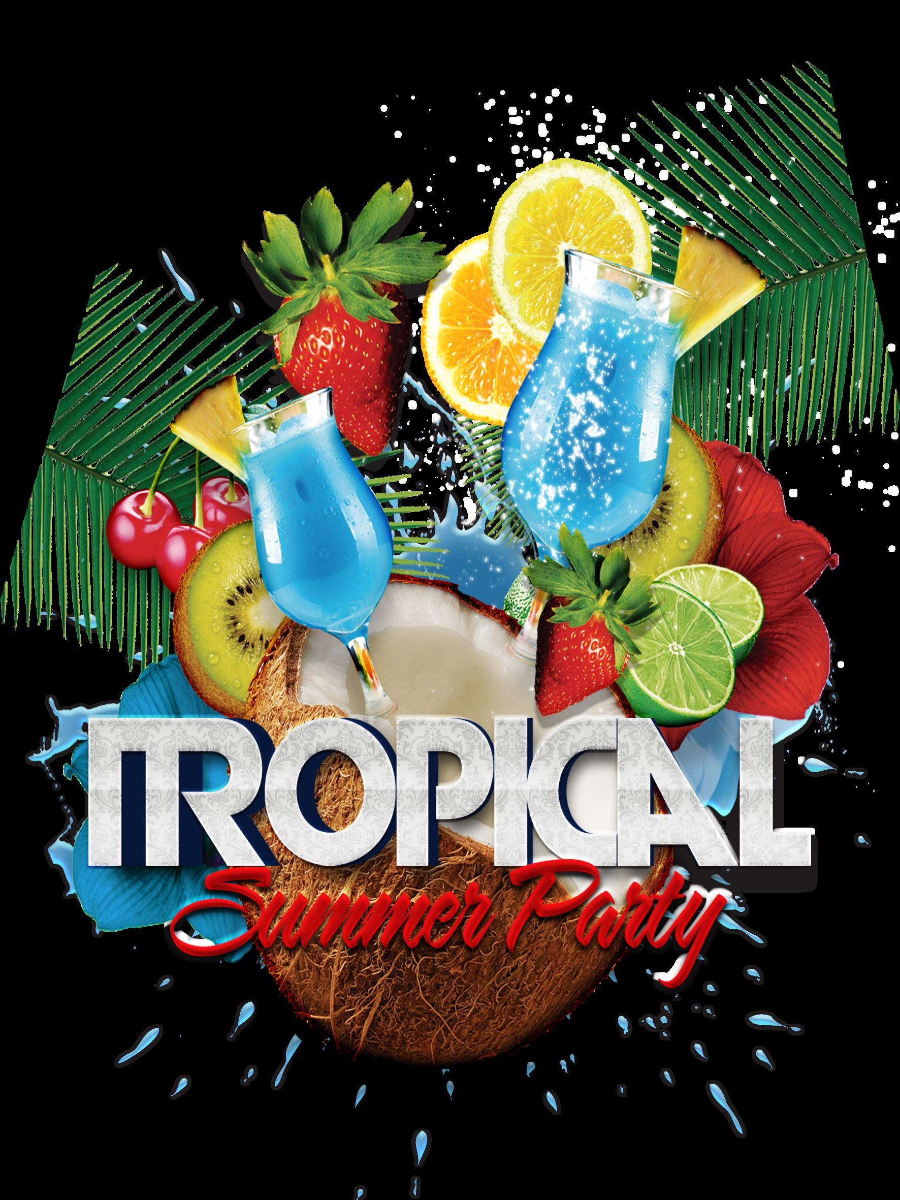 Tropics clip art transprent. Fruits clipart tropical fruit