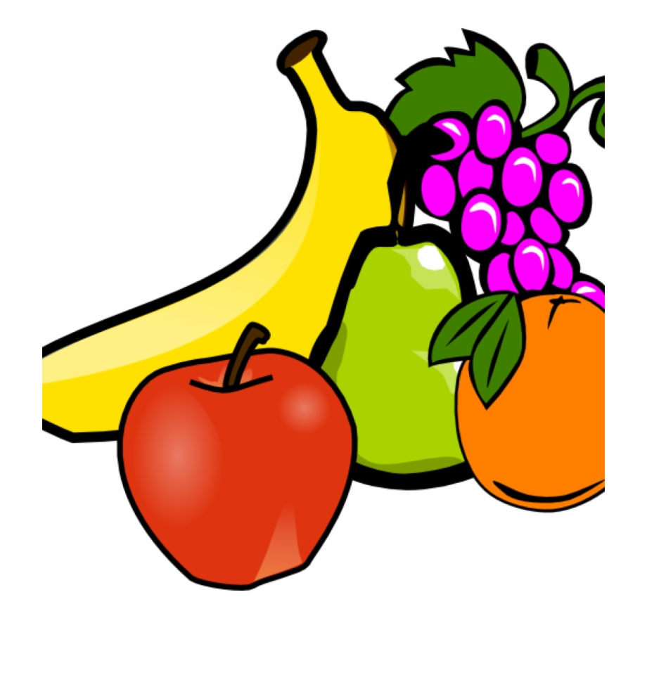 Fruits and vegetables vegetable. Clipart fruit veg