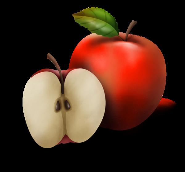 Fruits clipart tropical fruit. Pommes png food clip