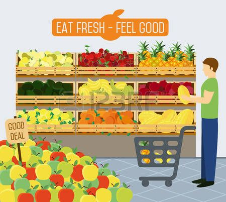 Pin on literacy prep. Grocery clipart village shop