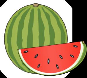 Clip art summer . Watermelon clipart green fruit vegetable