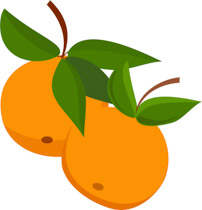 Oranges clipart. Free fruits clip art