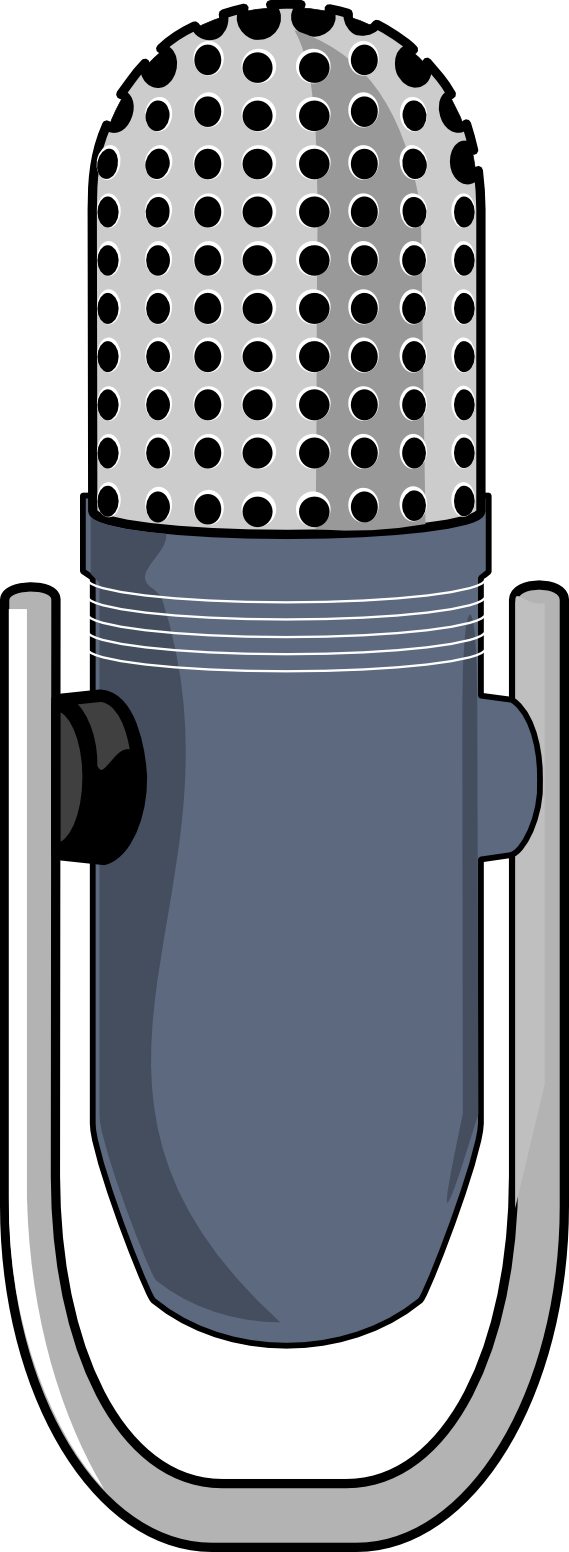 Studio clip art panda. Microphone clipart kid