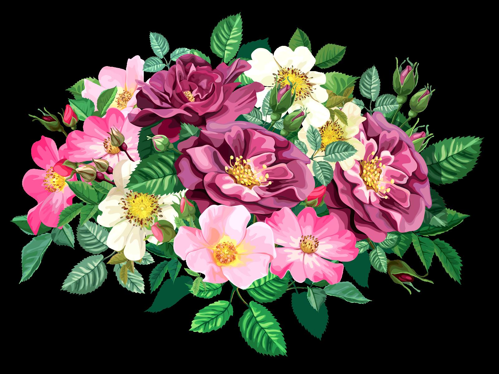 Bouquet cl part transparent. Clipart wedding rose