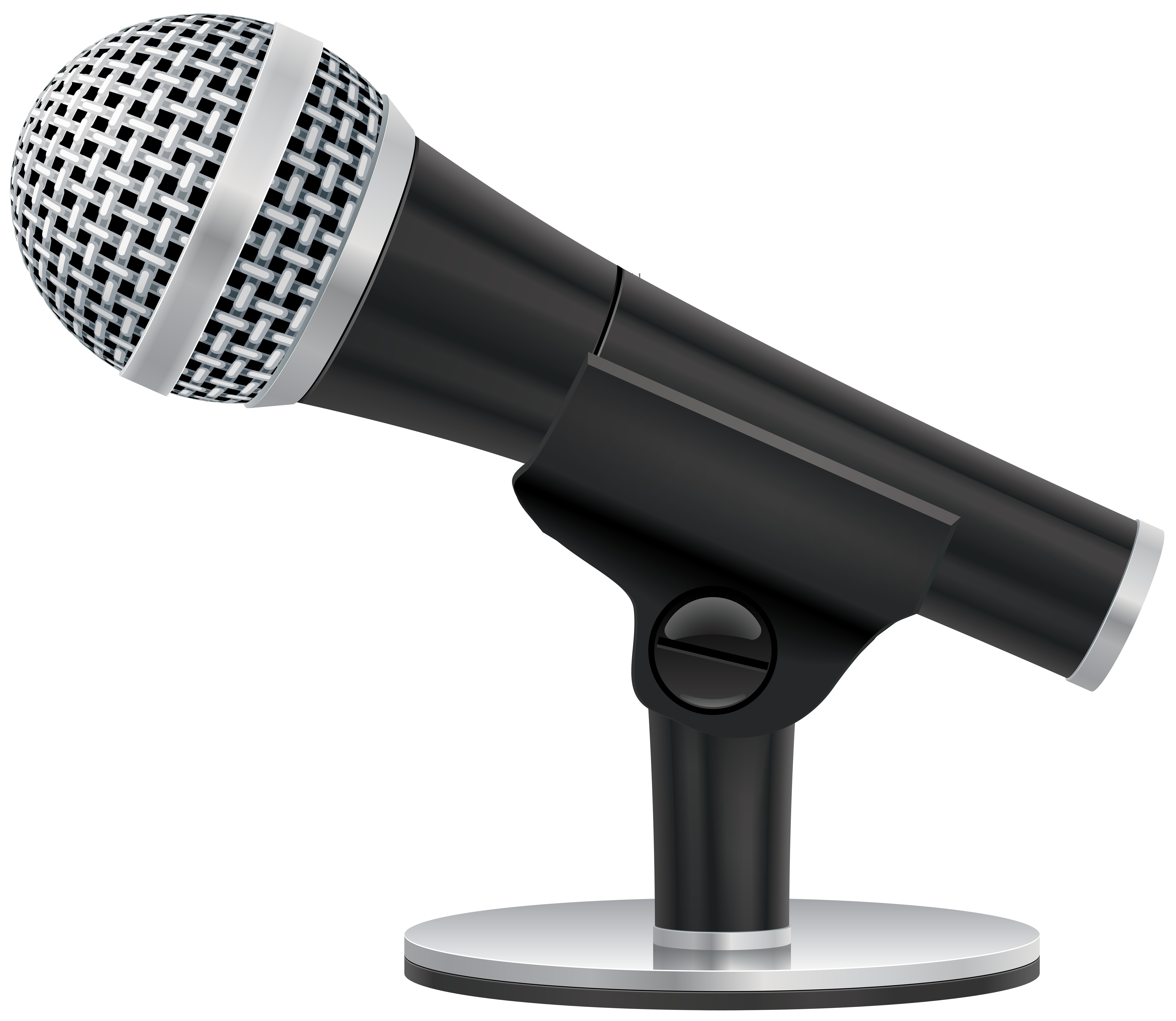 Png clip art image. Microphone clipart studio microphone