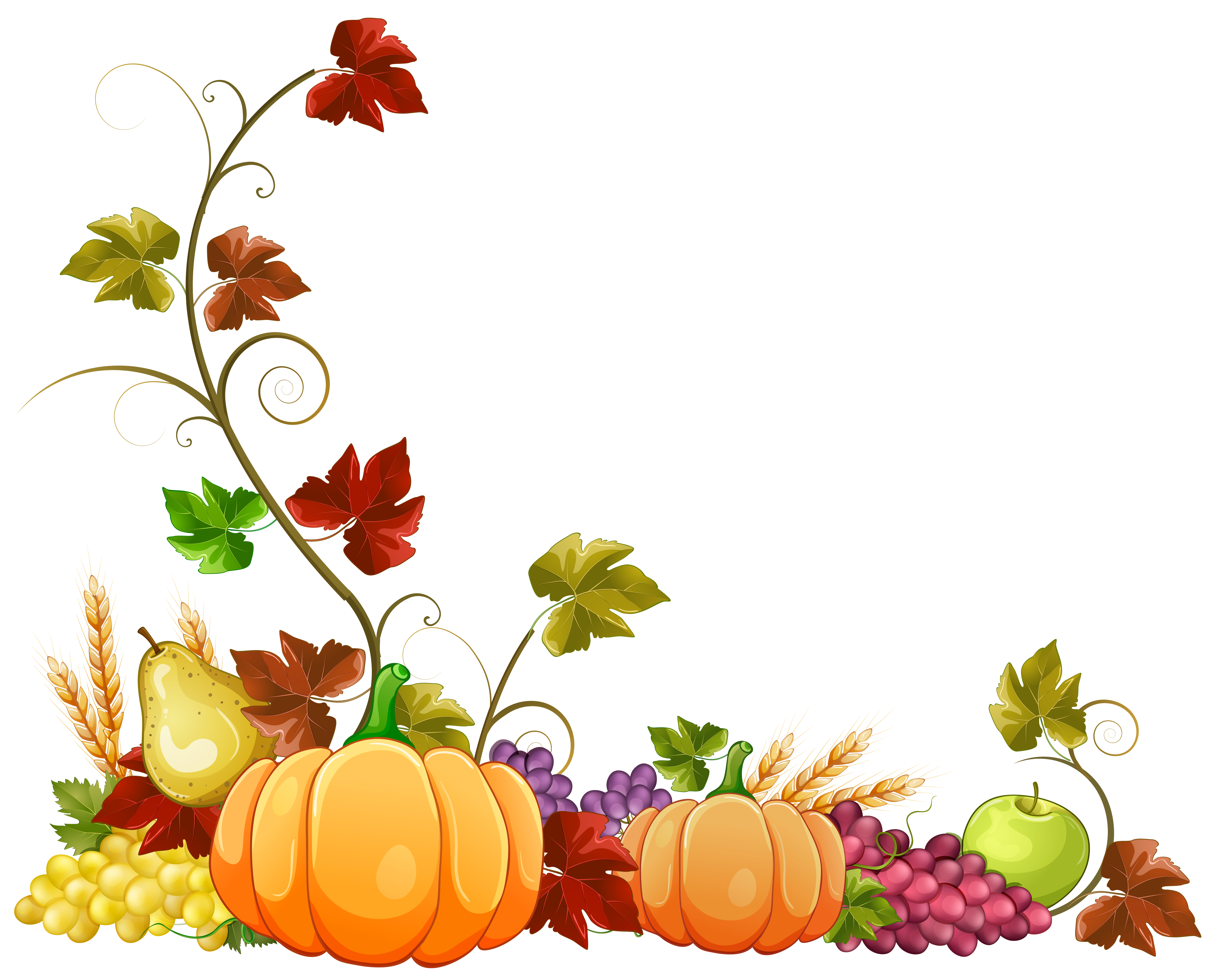 Vines clipart autumn. Pin by joanie lawrence