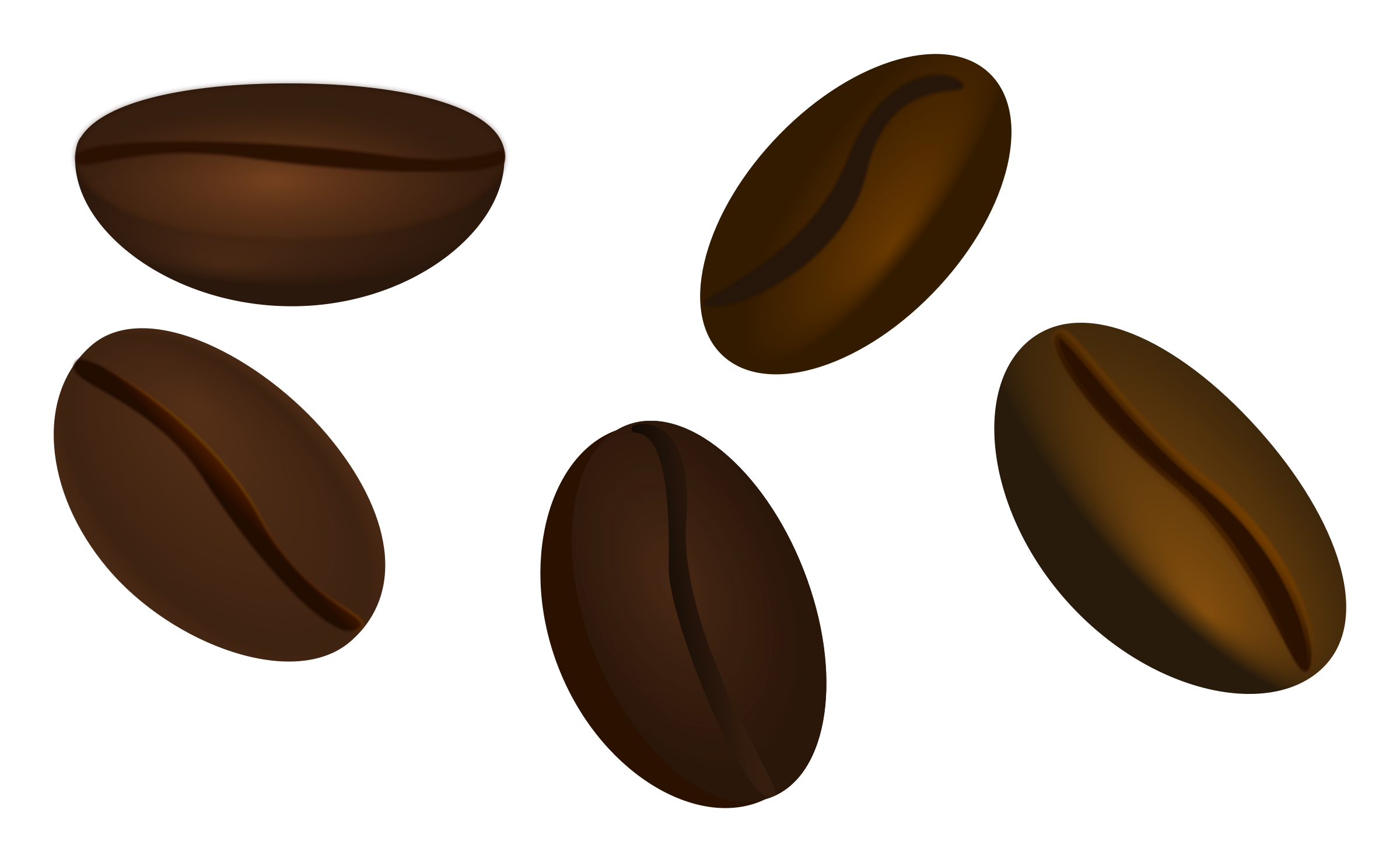 Coffee panda free images. Beans clipart transparent