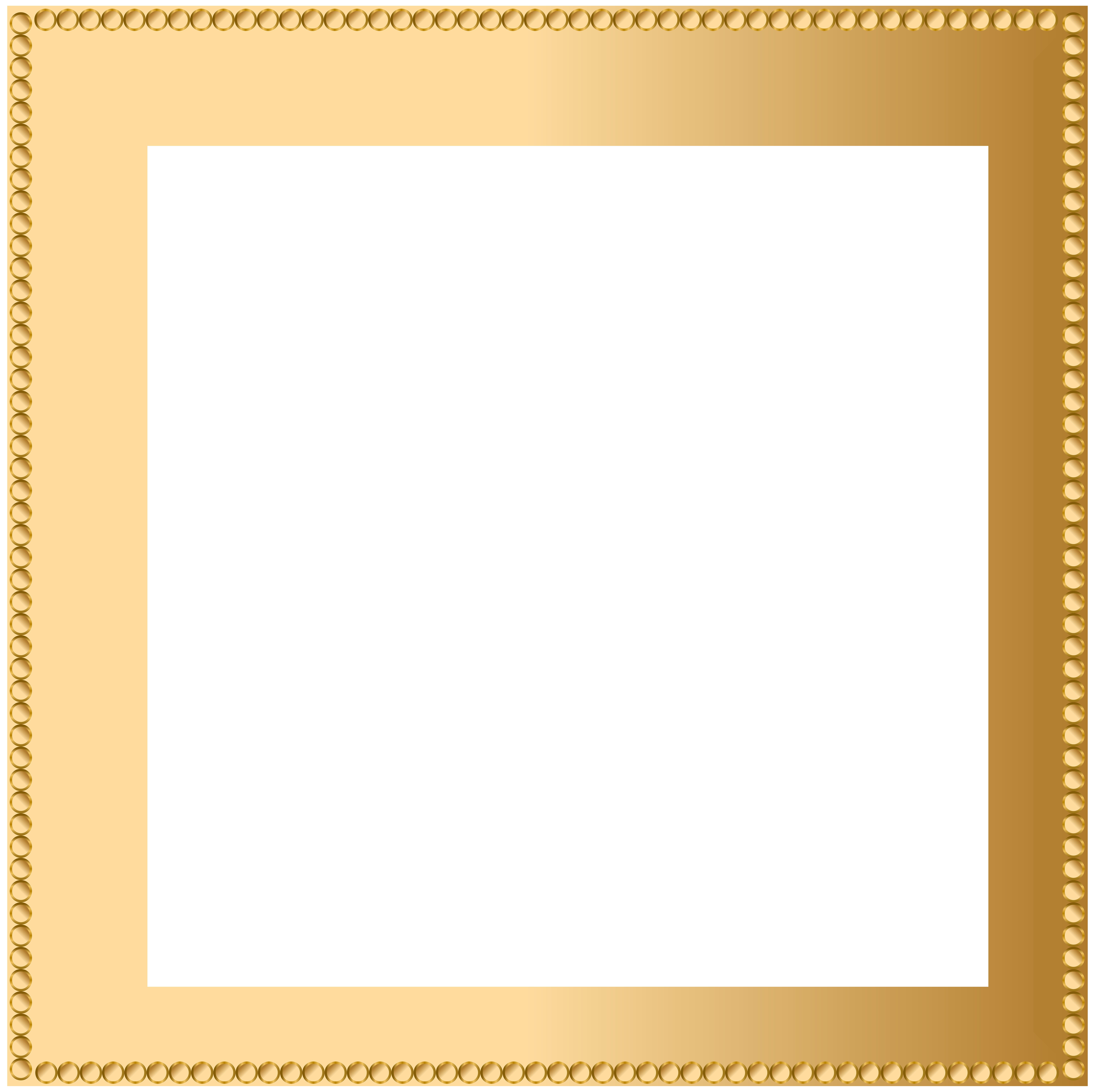 Frame transparent png image. Clipart gallery border