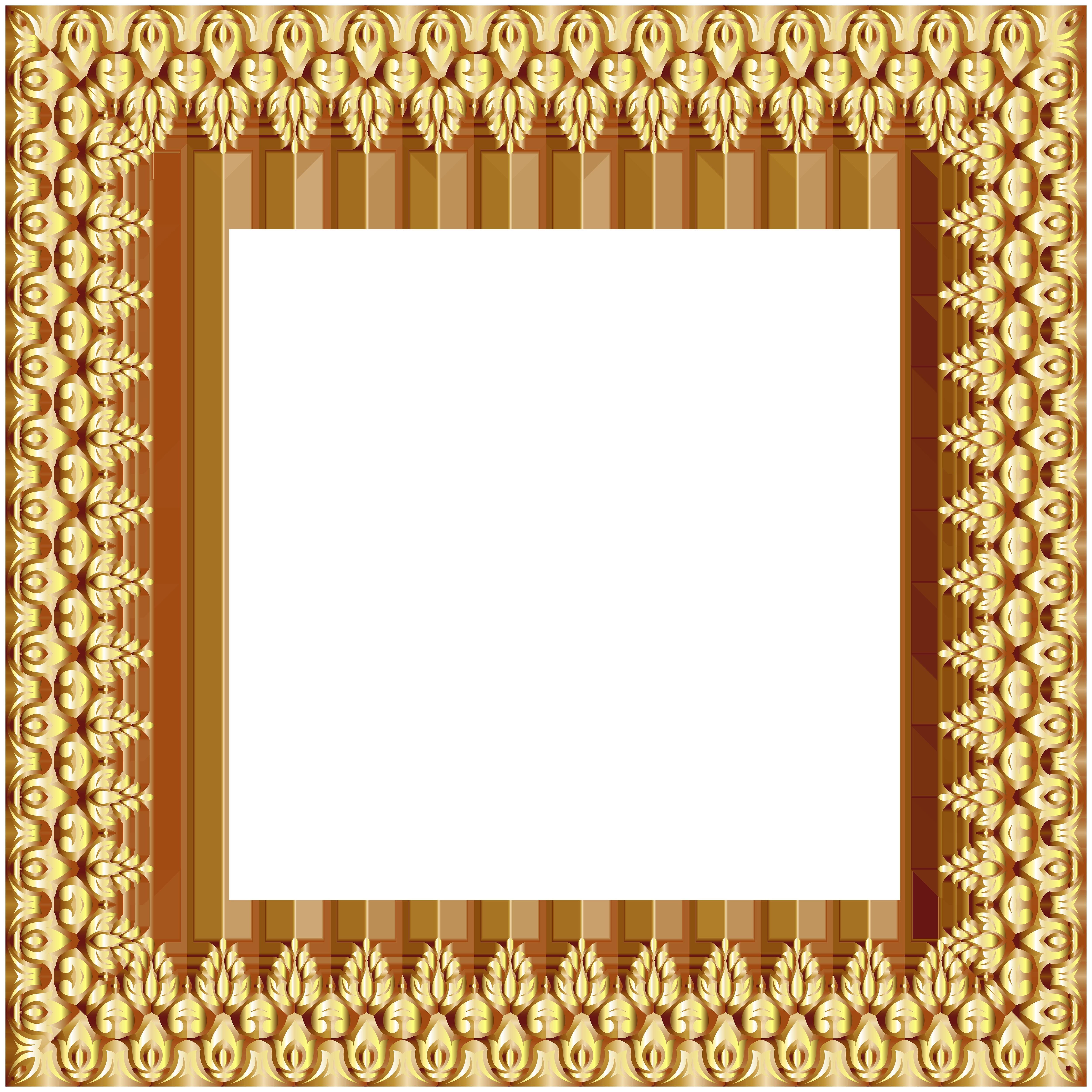 Frame transparent png clip. Clipart gallery border
