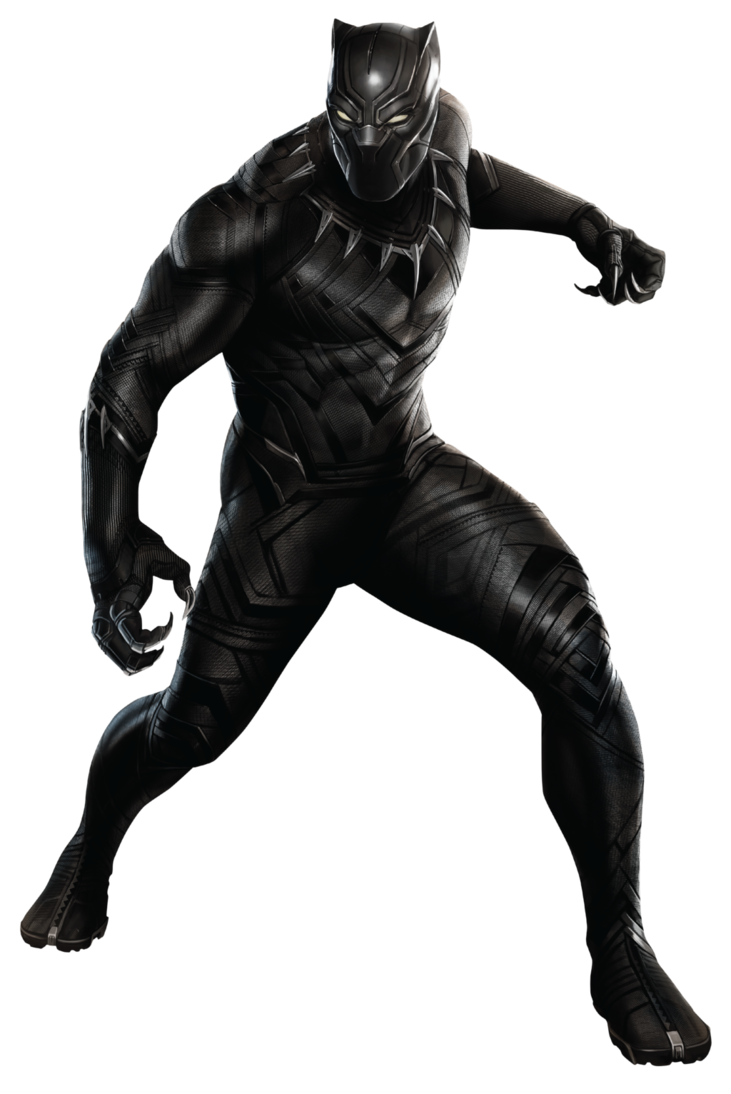 Civil war by sidewinder. Paw clipart black panther