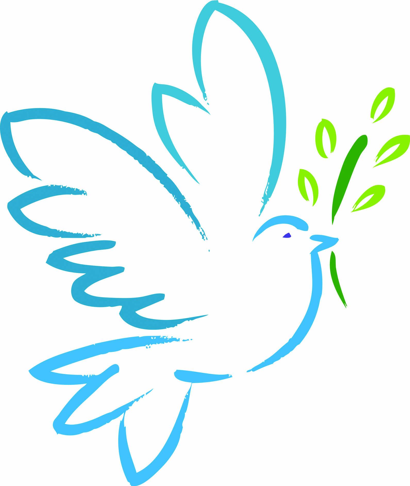 Free download clip art. Peace clipart dove