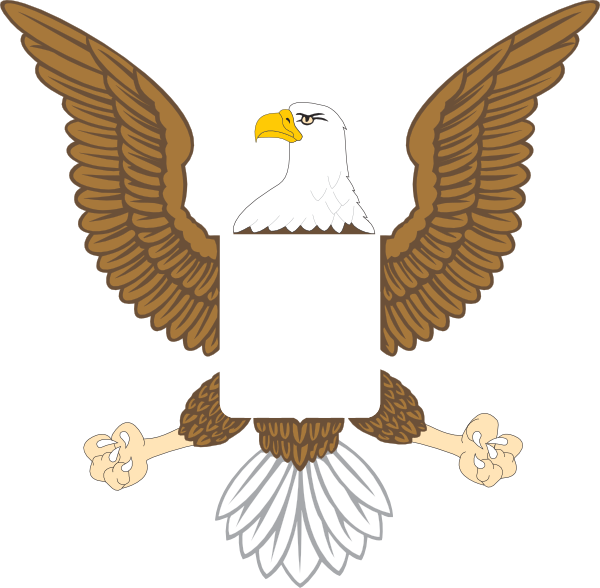 Image of american clip. Clipart png eagle