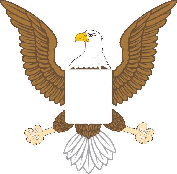 Image of american clip. Eagle clipart superhero