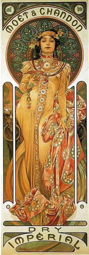 Clipart gallery famous artist. Alphonse maria mucha the
