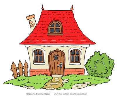 Free illustrations no watermark. House clipart cartoon