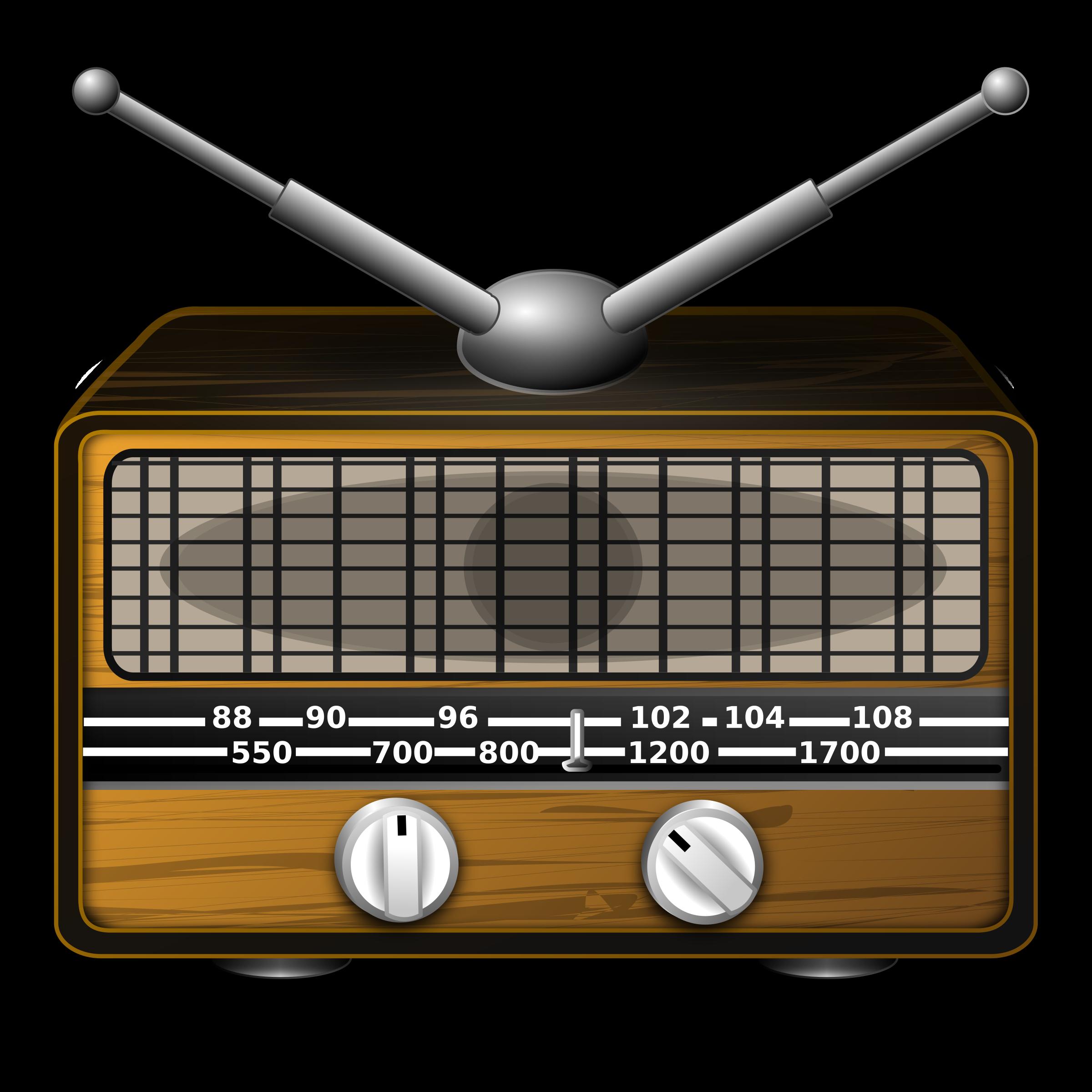 Hand clipart radio. Clip art free panda
