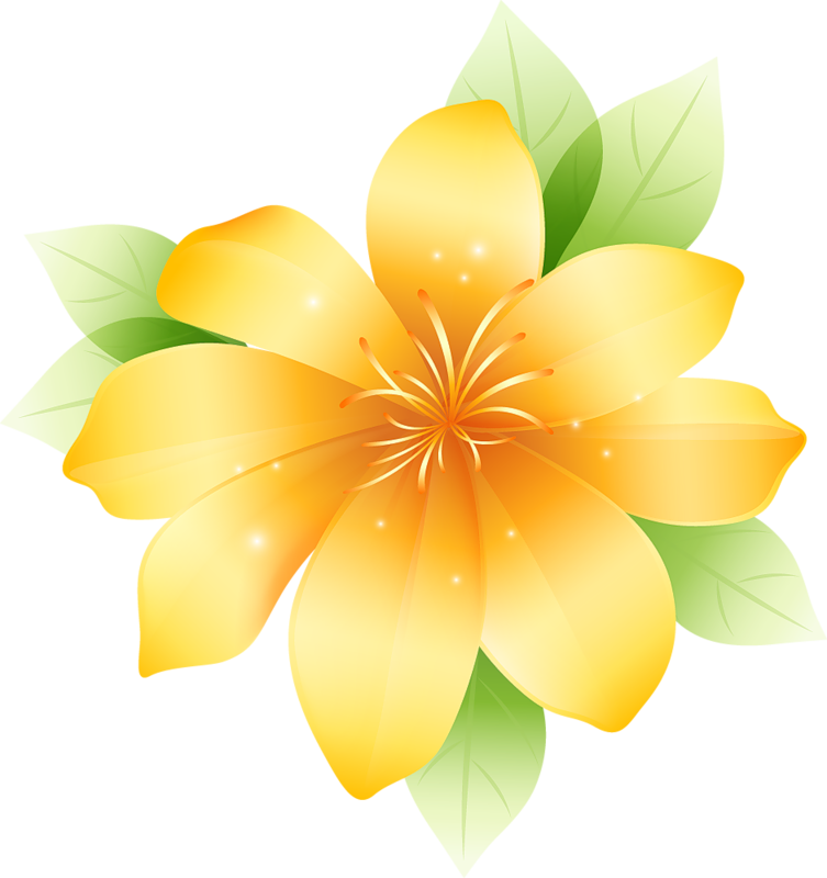 Clipart gallery large flower. Yellow yopriceville high quality