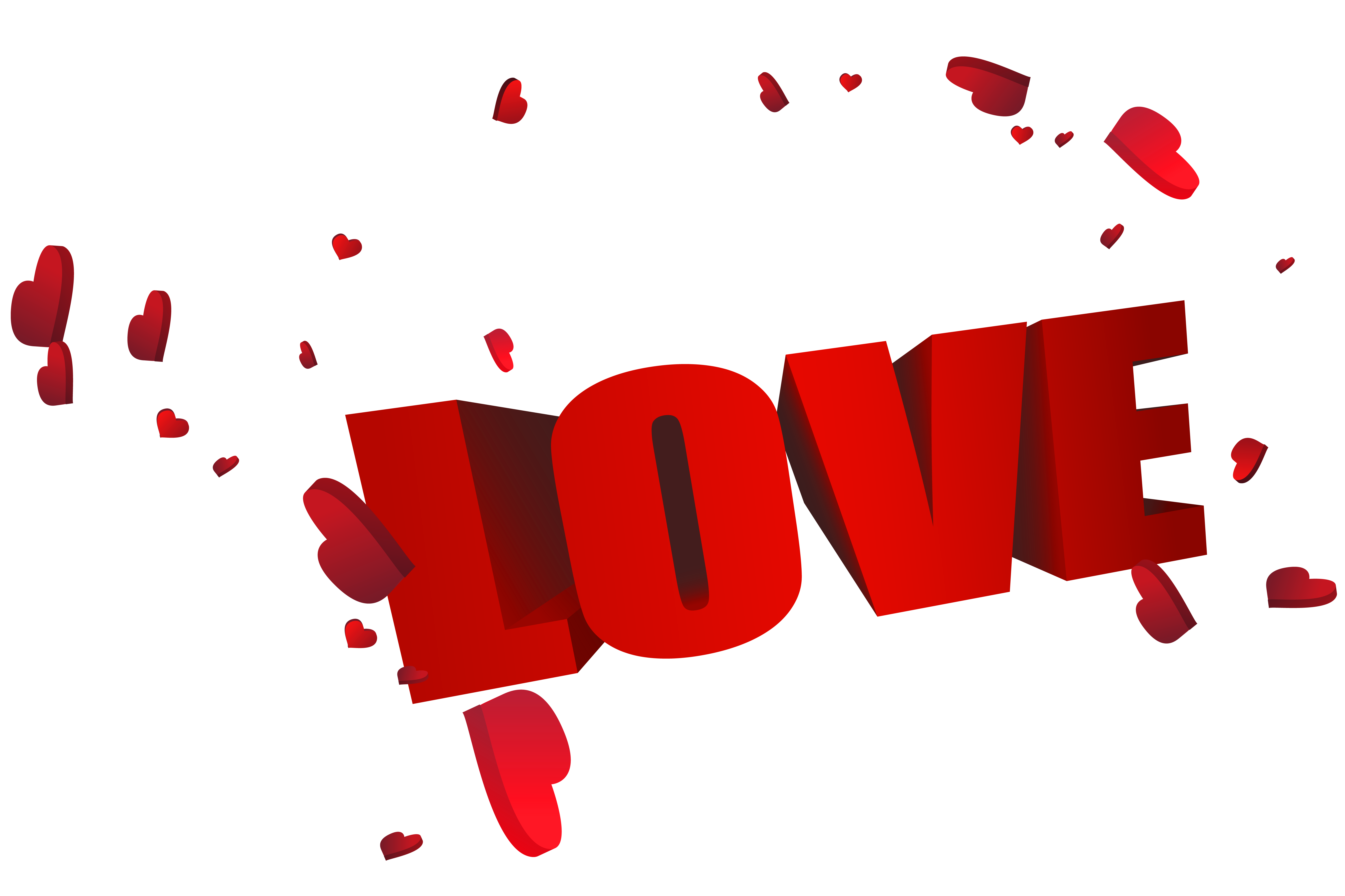 Big red d love. Couple clipart lover