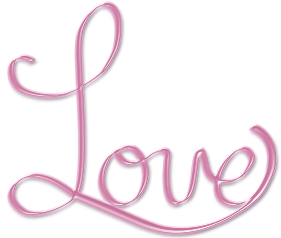 Png love free icons. Words clipart pink