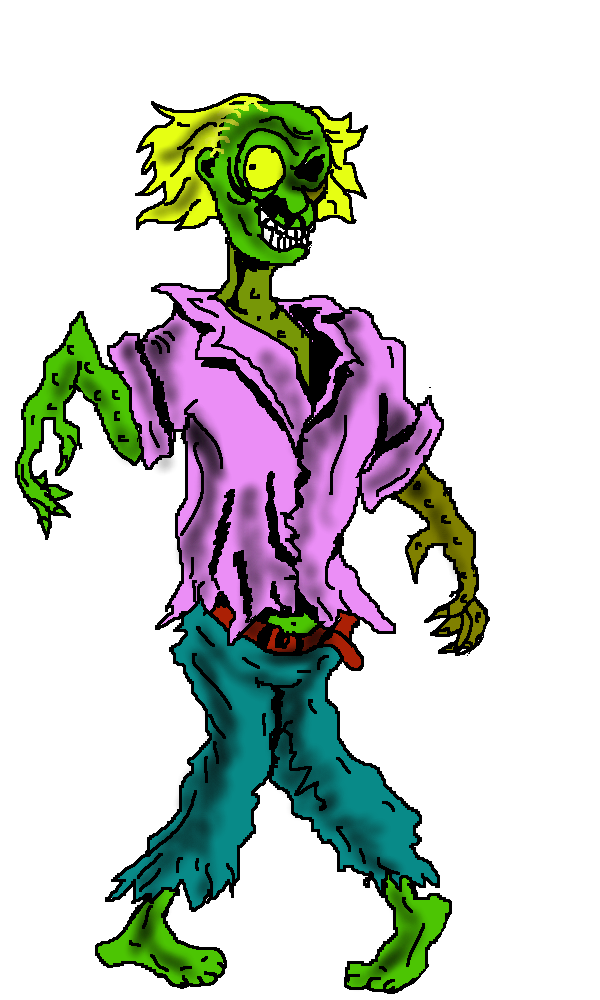 Microsoft office clip art. Zombie clipart female zombie