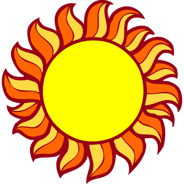 Sunny clipart cartoon. Animated sun pictures with
