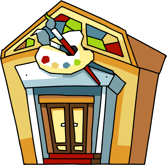 clipart gallery museam