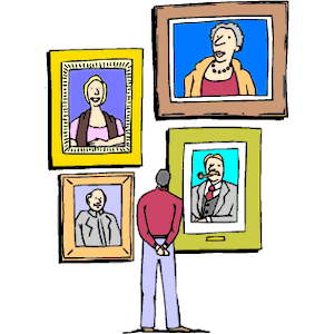 Clipart gallery museum display. Free cliparts exhibit download