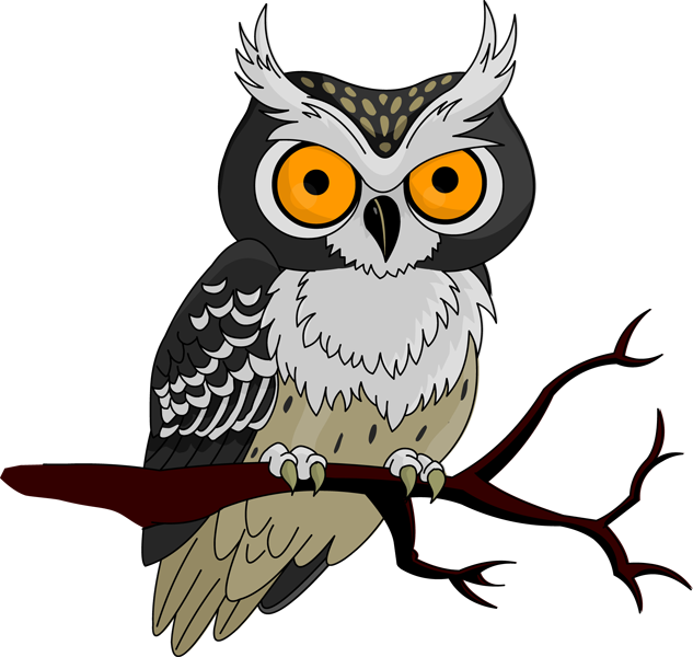 Clipart halloween owl. Panda free images halloweenowlclipart
