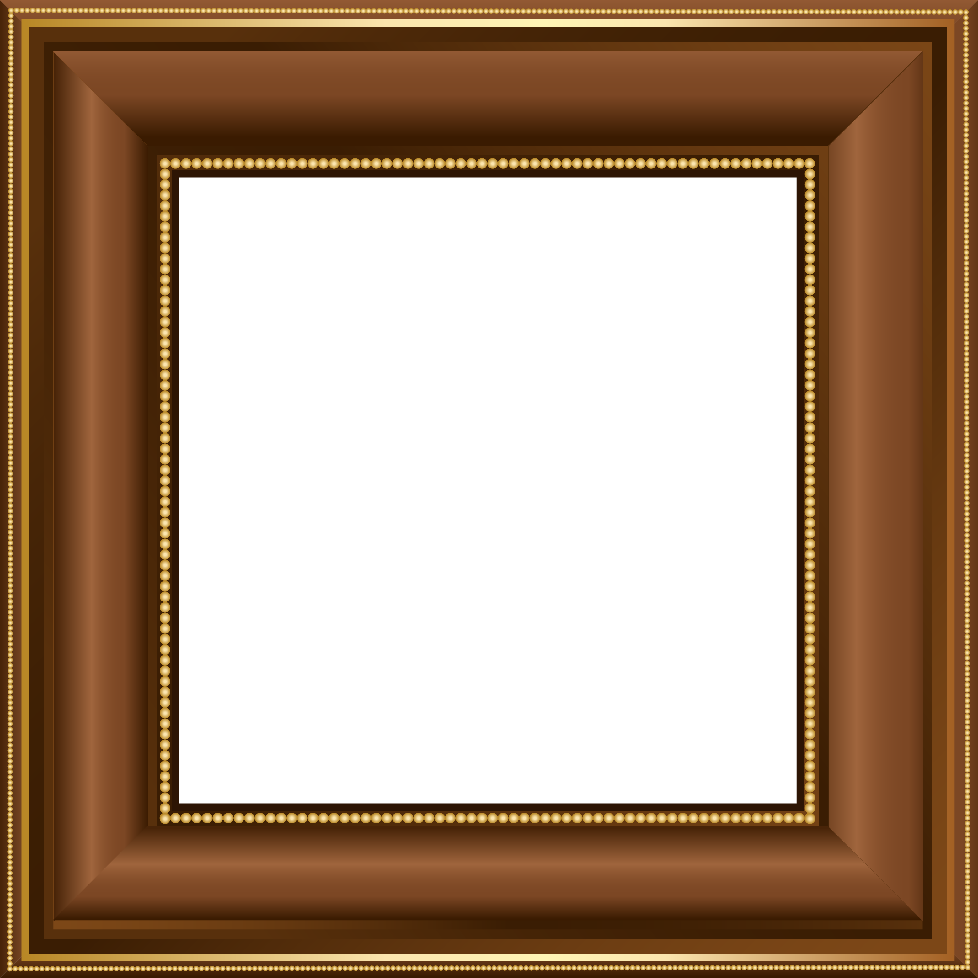 Brown transparent photo yopriceville. Clipart gallery photograph frame