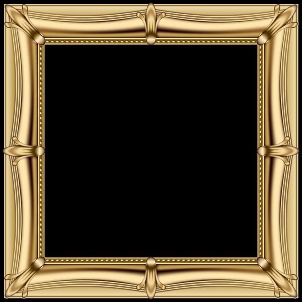 Golden frame png. Gold transparent clip art