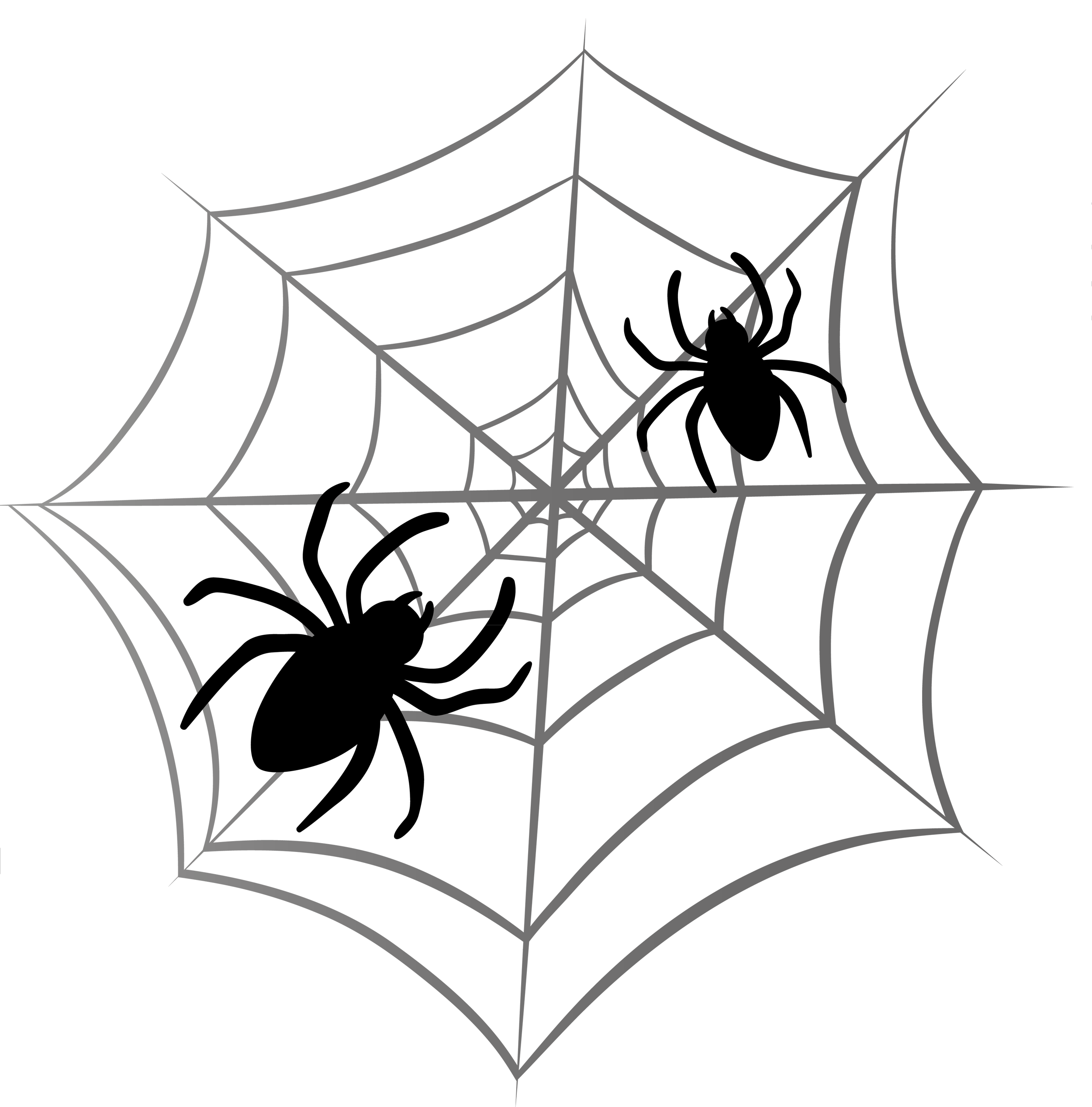 Clipart halloween spider. Web png gallery yopriceville