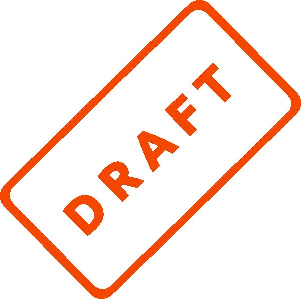 Draft Clipart