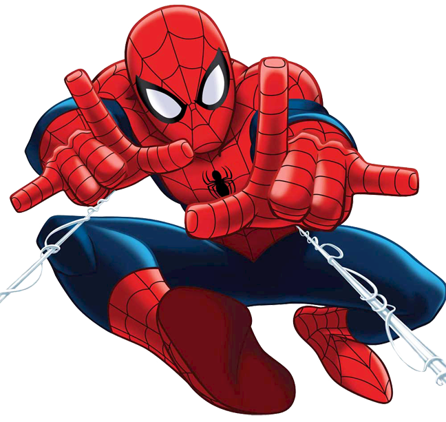 collection of spiderman. People clipart printable