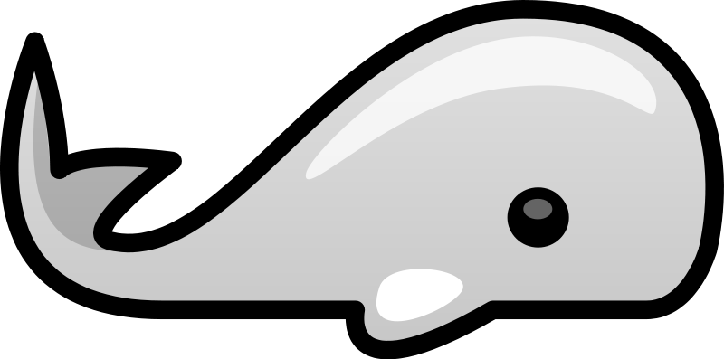 Cute clipart whale.  collection of simple