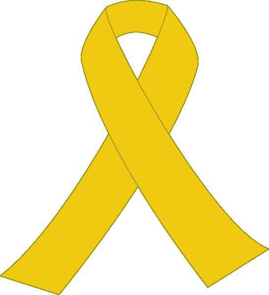 Dark . Good clipart yellow ribbon