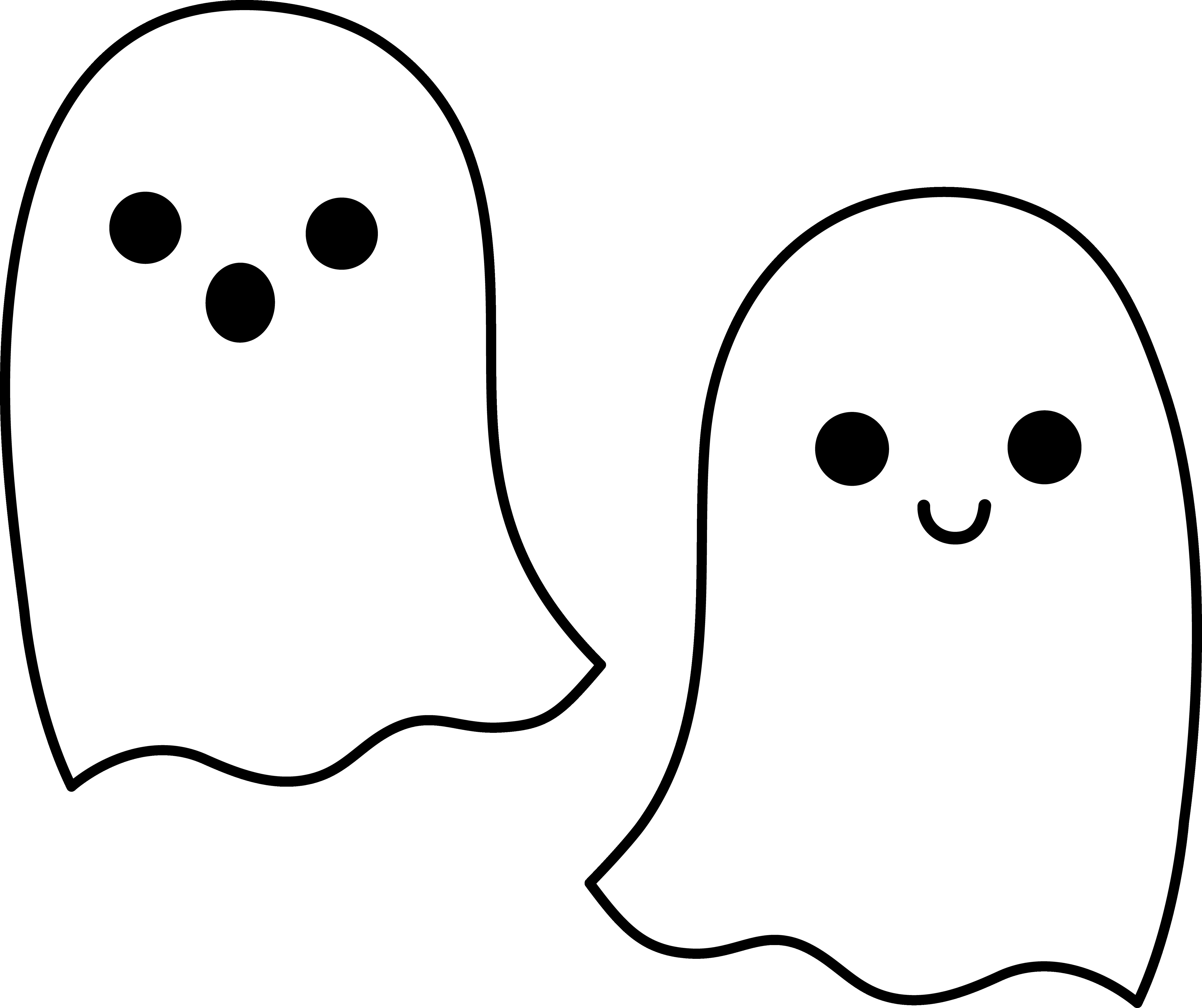 Cute halloween . Clipart ghost adorable