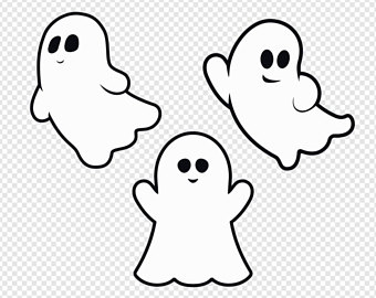 ghost clipart ghosts cute clip basic svg vector digital webstockreview banner