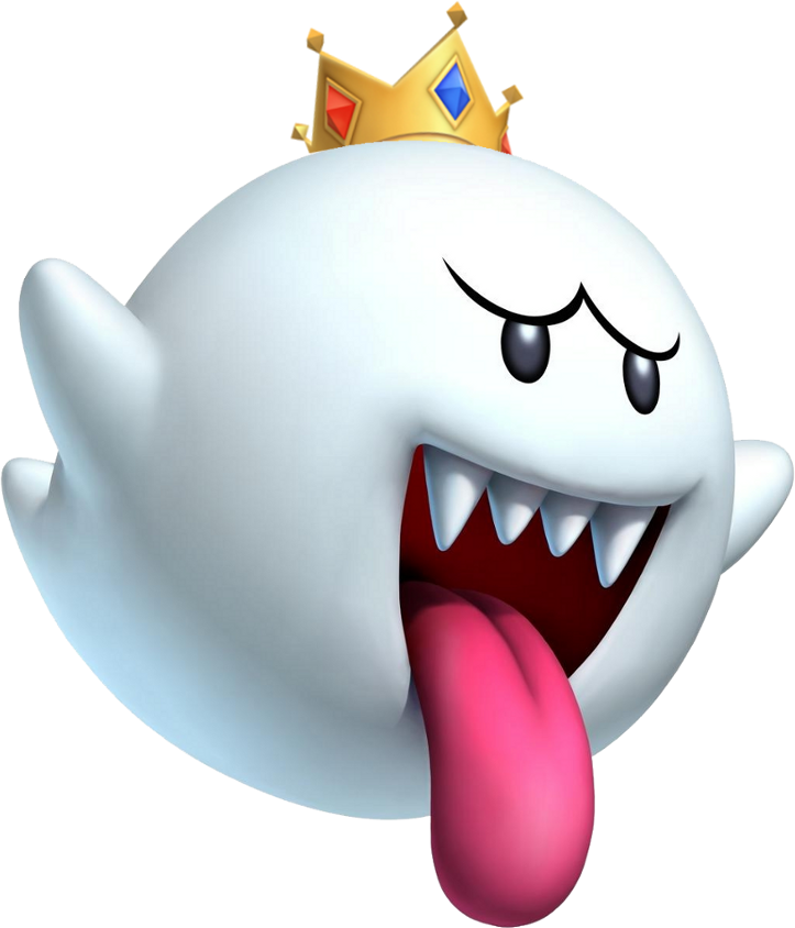 New super bros ds. Mario clipart mario ghost