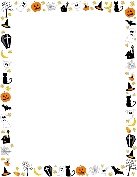 Clipart ghost border. Pin by muse printables