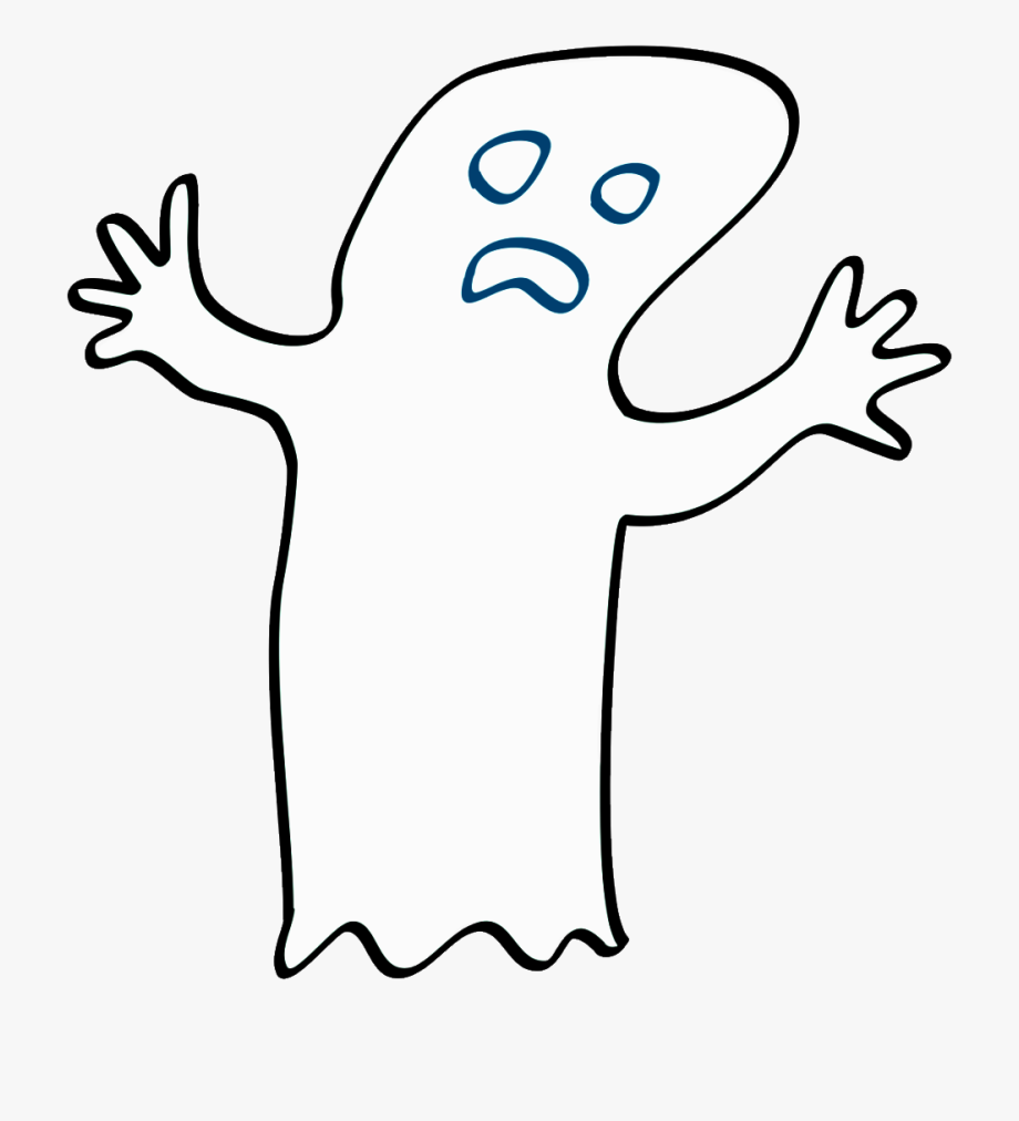 Black and white stock. Clipart ghost clipart clear background
