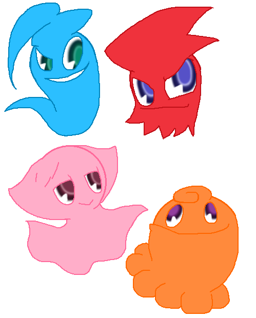 Ghost drawing at getdrawings. Youtube clipart pacman