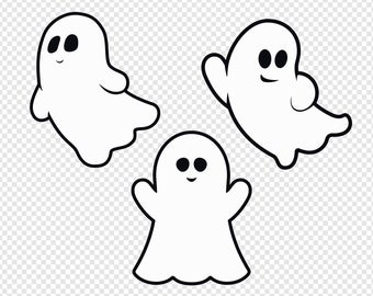 Etsy . Ghost clipart adorable